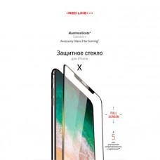 Защитное стекло для iPhone Red Line Corning Full Screen для iPhone X Black